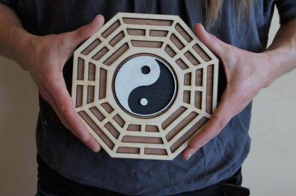 decoration yin yang