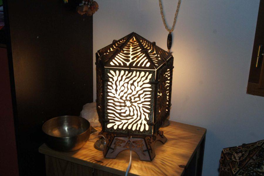 lampe corail
