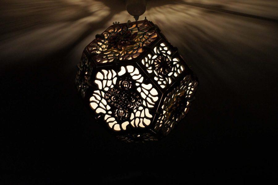 lampe chamanique