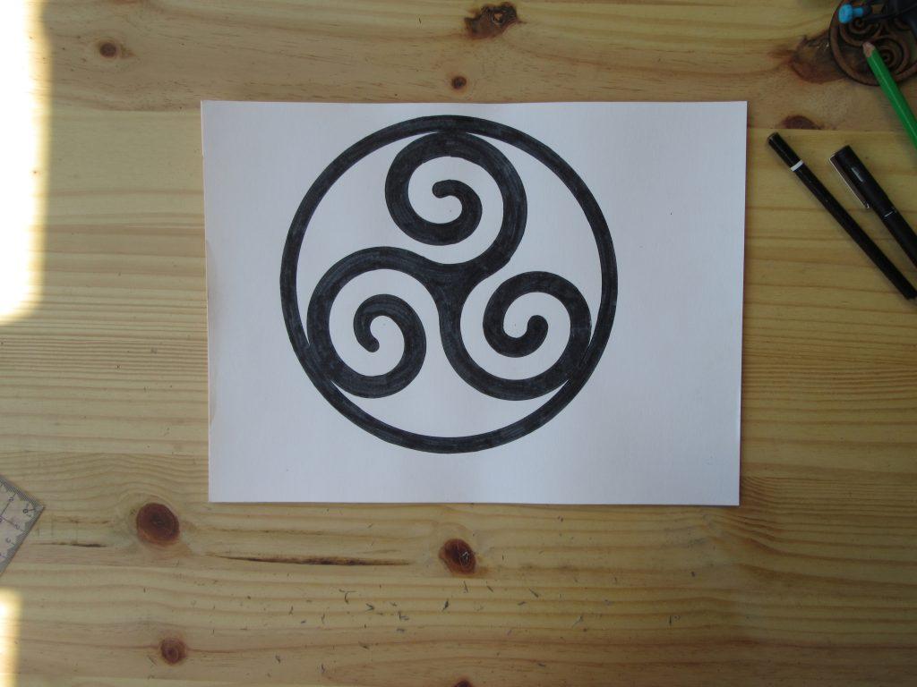 dessiner-triskel
