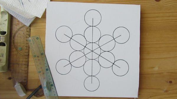 dessin-metatron-cube