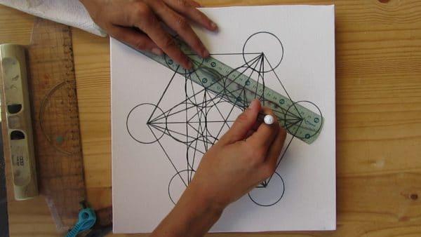 dessiner-cube-metatron