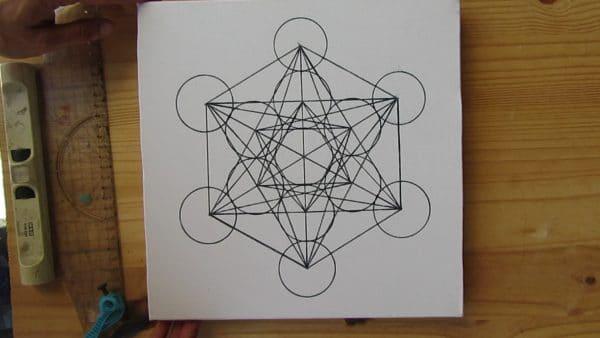 tableau-mural-metatron-cube