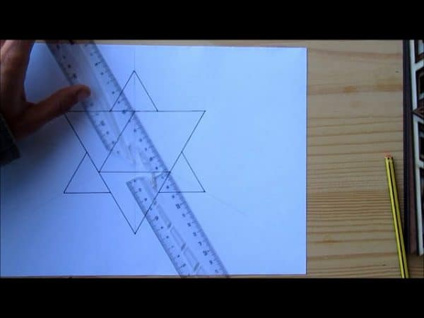 merkaba dessin