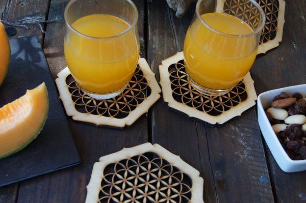 dessous-verre-fleur-vie-hexagonal