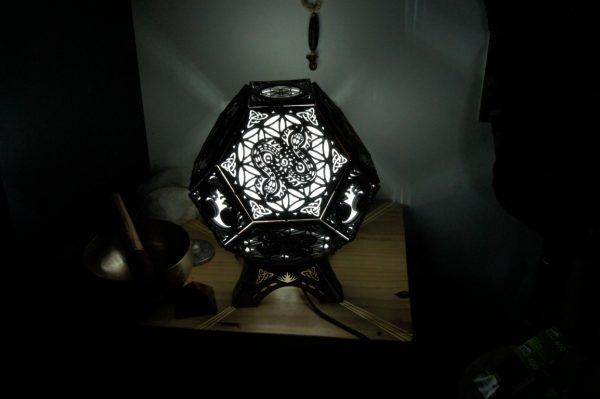 serpent-lampe