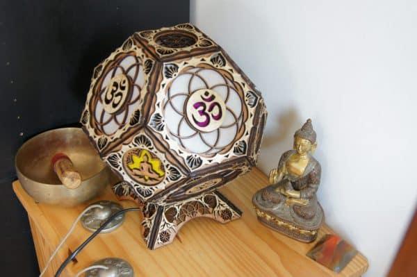 lampe ohm bouddha